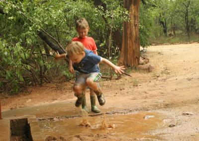 Fun in the Wet Season